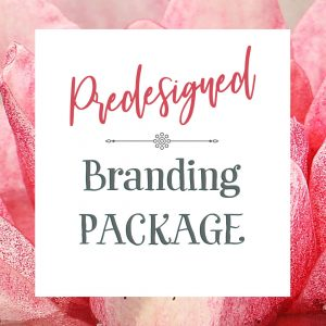 Brand packages are done for you! You will get your own logo, brand board, style guide, hand selected fonts, coordinated colors, and own your logo. This is a great savings on your business branding and graphic design!