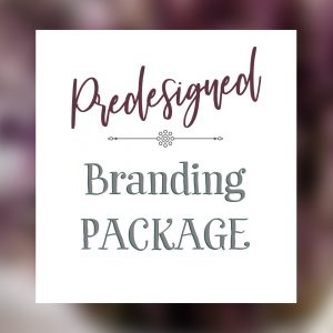 Pink, purple, and tan, feather themed logo with moon accent. Branding package includes custom designed logo, brand board, and style guide.