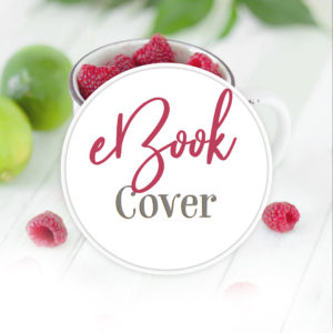 Fresh food inspired, pre-designed eBook cover, just add your text!