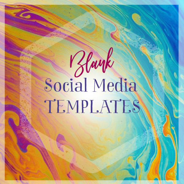 Social media, graphic design, colorful, templates.